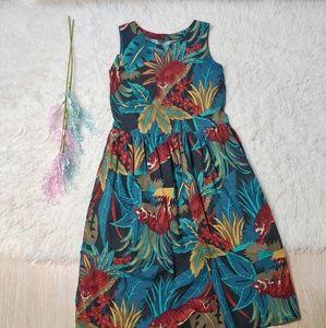 Vintage Jungle Cat Aline Dress With Pockets!